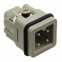 TE Connectivity AMP Connectors - HA-003-M - INSERT MALE 3+1GND SCREW