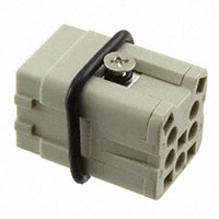 TE Connectivity AMP Connectors - HA-004-MS - INSERT MALE 4+1GND PUSHIN