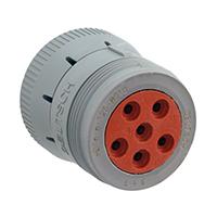 TE Connectivity Deutsch Connectors - HD16-6-12S-B010 - CONN PLUG HSNG FMALE 6POS INLINE