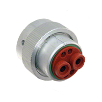TE Connectivity Deutsch Connectors - HD36-18-6SN - CONN PLUG HSG FMALE 6POS INLINE