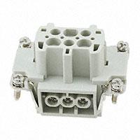 TE Connectivity AMP Connectors - HE-006-F - INSERT FEMALE 6POS SCREW