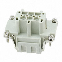 TE Connectivity AMP Connectors - HE-006-FS - INSERT FEMALE 6POS CLAMP