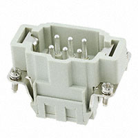 TE Connectivity AMP Connectors - HE-006-MS - INSERT MALE 6POS CLAMP