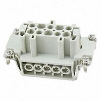 TE Connectivity AMP Connectors - HE-010-F - INSERT FEMALE 10POS SCREW