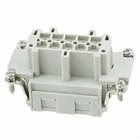 TE Connectivity AMP Connectors - HE-010-FS - INSERT FEMALE 10POS CLAMP