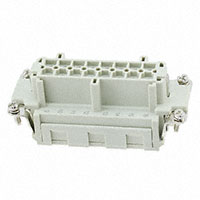 TE Connectivity AMP Connectors - HE-016-FS - INSERT FEMALE 16POS CLAMP