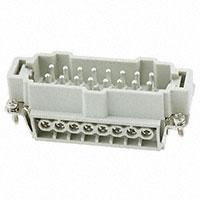 TE Connectivity AMP Connectors - HE-016-M - INSERT MALE 16POS SCREW