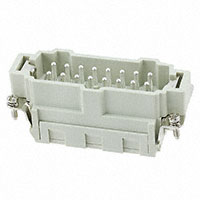 TE Connectivity AMP Connectors - HE-016-MS(17-32) - INSERT MALE 16POS CLAMP
