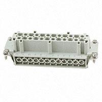 TE Connectivity AMP Connectors - HE-024-F - INSERT FEMALE 24POS SCREW