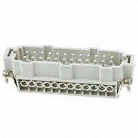 TE Connectivity AMP Connectors - HE-024-M - INSERT MALE 24POS SCREW