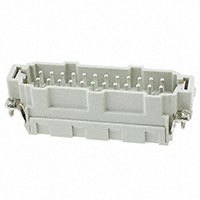 TE Connectivity AMP Connectors - HE-024-MS (25-48) - INSERT MALE 24POS CLAMP