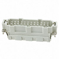 TE Connectivity AMP Connectors - HE-024-MS - INSERT MALE 24POS CLAMP