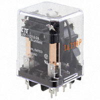 TE Connectivity Potter & Brumfield Relays - KUIP-11D13-24 - RELAY GEN PURPOSE DPDT 5A 24V