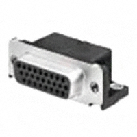 TE Connectivity AMP Connectors - 1-1734530-3 - CONN DSUB HD RCPT 15POS R/A SLDR