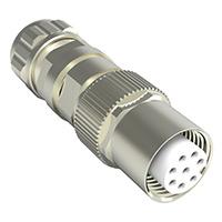 TE Connectivity AMP Connectors - 1-2308323-1 - CONN PLUG HSNG FMALE 8POS INLINE