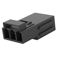 TE Connectivity AMP Connectors - 1-2834055-2 - REC MOD, 3P LATCHED POKE-IN WTW