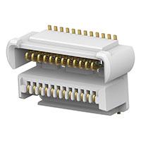 TE Connectivity AMP Connectors - 2199325-4 - 0.5MM FPH BTB, 4H/24POS/15U/TR/W