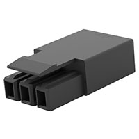 TE Connectivity AMP Connectors - 2834054-2 - PLUG, 3P LATCHED POKE-IN WTW CON