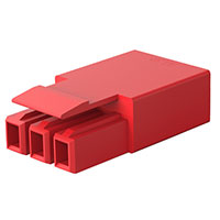 TE Connectivity AMP Connectors - 2834054-4 - PLUG, 3P LATCHED POKE-IN WTW CON