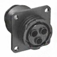 TE Connectivity AMP Connectors - 788189-1 - CONN RCPT HSG FMALE 3POS PNL MT