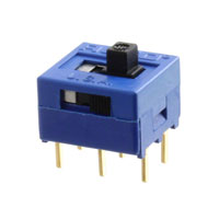 TE Connectivity ALCOSWITCH Switches - MSSA211NG - SWITCH SLIDE DPDT 0.4VA 20V