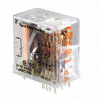 TE Connectivity Potter & Brumfield Relays - R10-E2P4-V700 - RELAY GEN PURPOSE 4PDT 3A 24V
