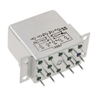 TE Connectivity Aerospace, Defense and Marine - 1-1617050-2 - RELAY GEN PURPOSE 4PDT 2A 26.5V