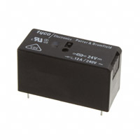 TE Connectivity Potter & Brumfield Relays - RT134024F - RELAY GEN PURPOSE SPST 12A 24V