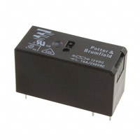 TE Connectivity Potter & Brumfield Relays - RT334012F - RELAY GEN PURPOSE SPST 16A 12V