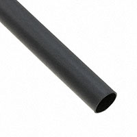 "TE Connectivity Raychem Cable Protection - SCT-NO.2-E5-0-STK - HEATSHRINK TUBING .355"" 4:1 BLK"