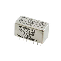 TE Connectivity Aerospace, Defense and Marine - SR-7608 - RELAY GEN PURPOSE 4PDT 2A 26.5V