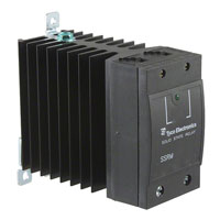 TE Connectivity Potter & Brumfield Relays - SSRM-600D65 - RELAY SSR COOL PK SPST 65A 32V