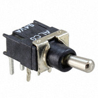 TE Connectivity ALCOSWITCH Switches - TST11DGRA1D04 - SWITCH TOGGLE SPDT 0.4VA 20V