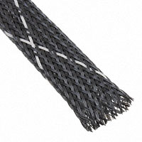"""TE Connectivity Raychem Cable Protection - VERSAFLEX-FR-1/2-09-SP - SLEEVING 0.512"""" X 3.28' BLK/WHT"""