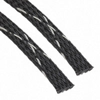 """TE Connectivity Raychem Cable Protection - VERSAFLEX-FR-3/8-09-SP - SLEEVING 0.394"""" X 3.28' BLK/WHT"""