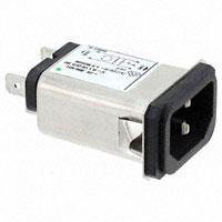 TE Connectivity Corcom Filters - 1-6609008-9 - PWR ENT RCPT IEC320-C14 PANEL QC