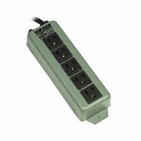 "Tripp Lite - 602 - POWER STRIP 7.38""15A 5OUT 6'CORD"