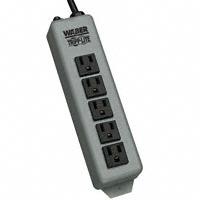 """Tripp Lite - 602-15 - POWER STRIP 7.38""""15A 5OUT15'CORD"""