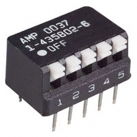TE Connectivity ALCOSWITCH Switches - 1-435802-6 - SWITCH PIANO DIP SPST 25MA 24V