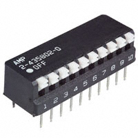 TE Connectivity ALCOSWITCH Switches - 2-5435802-0 - SWITCH PIANO DIP SPST 25MA 24V