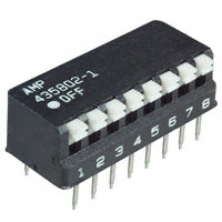 TE Connectivity ALCOSWITCH Switches - 5435802-1 - SWITCH PIANO DIP SPST 25MA 24V