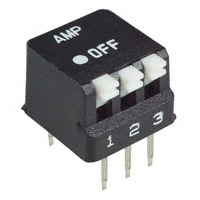 TE Connectivity ALCOSWITCH Switches - 5435802-2 - SWITCH PIANO DIP SPST 25MA 24V