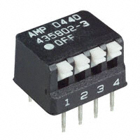 TE Connectivity ALCOSWITCH Switches - 5435802-3 - SWITCH PIANO DIP SPST 25MA 24V
