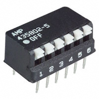 TE Connectivity ALCOSWITCH Switches - 5435802-5 - SWITCH PIANO DIP SPST 25MA 24V