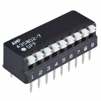TE Connectivity ALCOSWITCH Switches - 5435802-7 - SWITCH PIANO DIP SPST 25MA 24V
