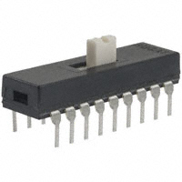 TE Connectivity ALCOSWITCH Switches - 3-1825010-8 - SWITCH SLIDE 6PDT 0.4VA 20V