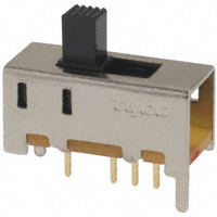 TE Connectivity ALCOSWITCH Switches - MHS133G - SWITCH SLIDE SP3T 0.4VA 20V