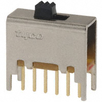 TE Connectivity ALCOSWITCH Switches - MSS2200G - SWITCH SLIDE DPDT 0.4VA 20V