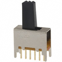 TE Connectivity ALCOSWITCH Switches - MSS2250G - SWITCH SLIDE DPDT 0.4VA 20V