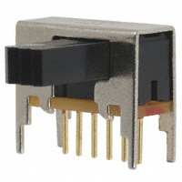TE Connectivity ALCOSWITCH Switches - MSS2250RG - SWITCH SLIDE DPDT 0.4VA 20V